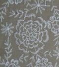 Amaretto Linen Fabric -Taupe