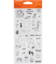Fiskars Clear Stamps-Little Moments, , hi-res