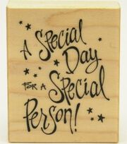 Inkadinkado Rubber Stamp-Special Person, , hi-res