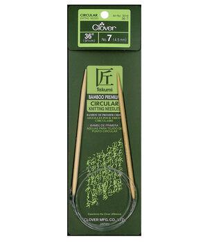 "Takumi Bamboo Circular Knitting Needles 36""-Size 7/4.5mm"