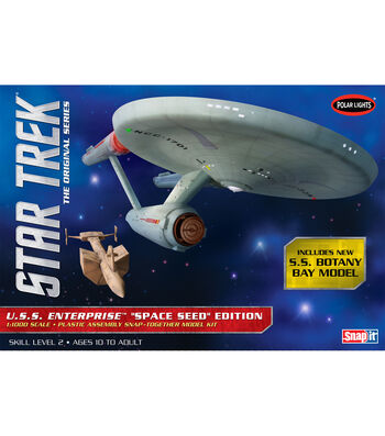 Polar Lights Star Trek USS Enterprise Space 1:1000 Scale Model Kit