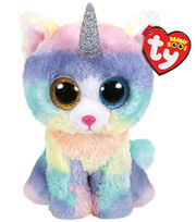 Ty Inc. Beanie Boos Regular Heather Cat with Horn, , hi-res