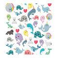 Life Organized 210 pk Micro Stickers-Narwhals