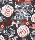 Novelty Cotton Fabrics 43\u0027\u0027-Hot Sauce