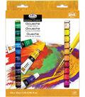 Gouache Acrylic Paints 12ml 24/Pkg-Assorted Colors