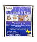 Bosal Stick-Stitch-N-Rinse Wash-Away Stabilizer 10/Pkg-8.5\u0027\u0027X11\u0027\u0027