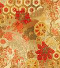 P/K Lifestyles Upholstery Fabric 54\u0022-Windflower/Henna