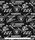 Oakland Raiders Cotton Fabric 58\u0022-Retro