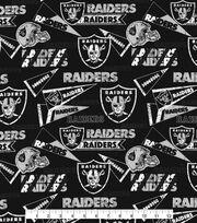 Oakland Raiders Cotton Fabric -Retro, , hi-res
