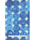 Upholstery Fabric 13x13\u0022 Swatch-Phases Ocean