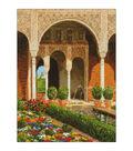 RIOLIS 11.75\u0027\u0027x15.75\u0027\u0027 Counted Cross Stitch Kit-The Palace Garden