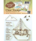 Dreamerland Crafts Clear Stamp Set-Wishing You A Smooth Sailing Ahead
