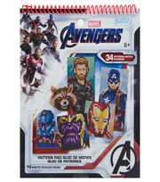 Perler Marvel Avengers Pattern Pad, , hi-res