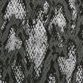 Faux Suede Stretch Fabric-Grey Snakeskin Print