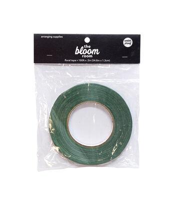 Bloom Room Waterproof Floral Tape 0.5''x180'-Green