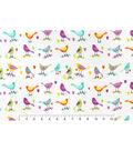 Snuggle Flannel Fabric 42\u0027\u0027-Pretty Birds