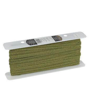 Ss 1/2 Grass Green Decorative Braid