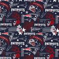 New England Patriots Cotton Fabric-Hometown