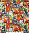 Harry Potter Cotton Fabric -Stained Glass Windows
