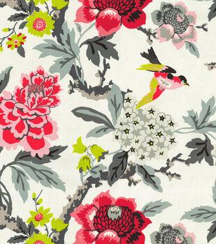 """Waverly Upholstery Fabric 54""""-Perfect Paring Ebony"""