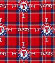 Texas Rangers Flannel Fabric-Plaid, , hi-res