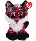Ty Inc. Flippables Medium Sequin Jewel Fox