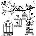 Crafter\u0027s Workshop Templates 6\u0022X6\u0022-Birds Of A Feather
