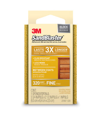 3M Command Advanced Abrasive Sanding Sponge