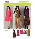Simplicity Pattern 2155BB 20W-28W -Simplicity Misses