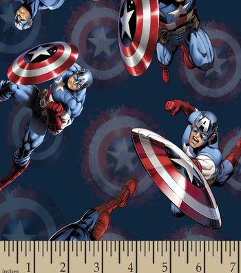 Marvel's The Avengers Print Fabric-Captain America