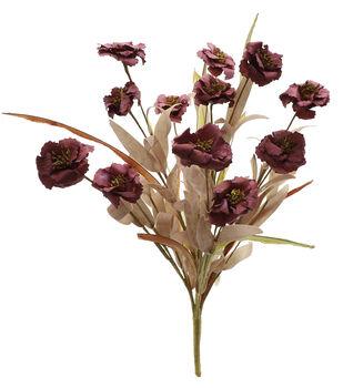 Blooming Autumn 20'' Mood Paper Flower Bush-Mauve