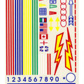Pine Car Derby Decal 4\u0022X5\u0022-Primaries
