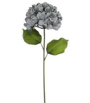 Blooming Autumn 27'' Hydrangea Stem-Gray