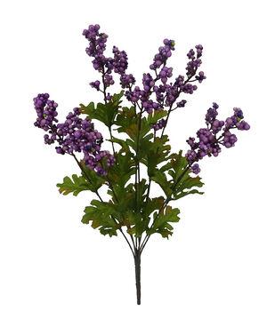 Blooming Autumn Berry Bush-Purple