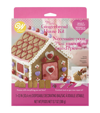 Wilton Valentine's Day Mini Gingerbread House Kit