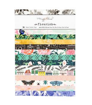 "Maggie Holmes 6""x8"" Paper Pad-Flourish"