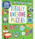 Parragon Totally Awesome Puzzles Book