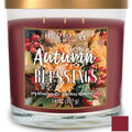 Hudson 43 Candle & Light Fall 14 oz. 3-wick Autumn Blessings Candle