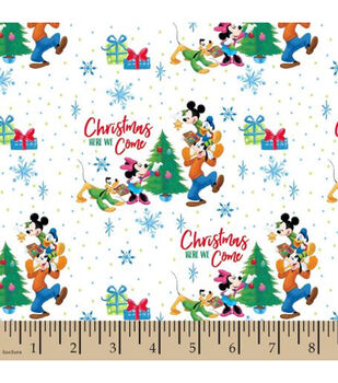 Disney Christmas Cotton-Here We Come
