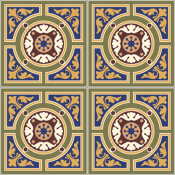 classical tile design