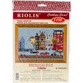 RIOLIS Combopu Cama 11.75\u0027\u0027x8.25\u0027\u0027 Counted Cross Stitch Kit-Cycle Lane