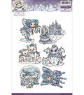 Yvonne Creations Clear Stamps-Magical Winter
