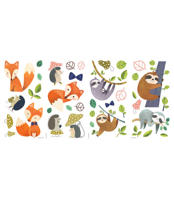 York Wallcoverings Wall Decals Forest Friends Giant, , hi-res, image 1