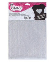 Tulip Fashion Glitter Iron-On Transfer Sheet Silver Glitter, , hi-res