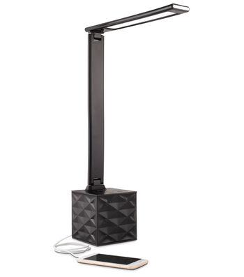 Ottlite Lighting LED Bluetooth Speaker Lamp-Black