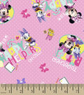 Disney Minnie Mouse Cotton Fabric 43\u0027\u0027-Happy Helpers