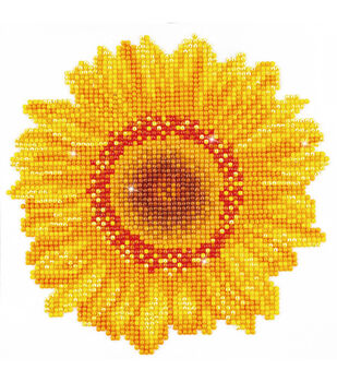 "Diamond Embroidery Facet Art Kit 9.7""X9.7""-Happy Day Sunflower"