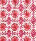 Dena Upholstery Fabric 54\u0022-Pinwheeling Candy Apple