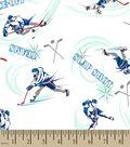 Hockey Print Fabric
