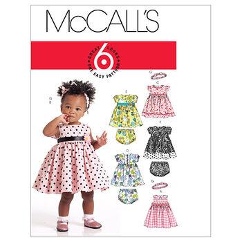 McCall's Infants Dress-M5791